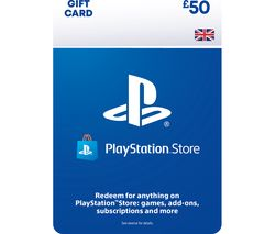 PlayStation Store £50 Wallet Top-Up