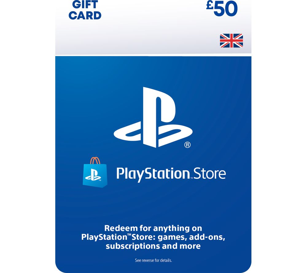 SONY PlayStation Store £50 Wallet Top-Up