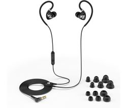 Fit 2.0 Sports Earphones - Black