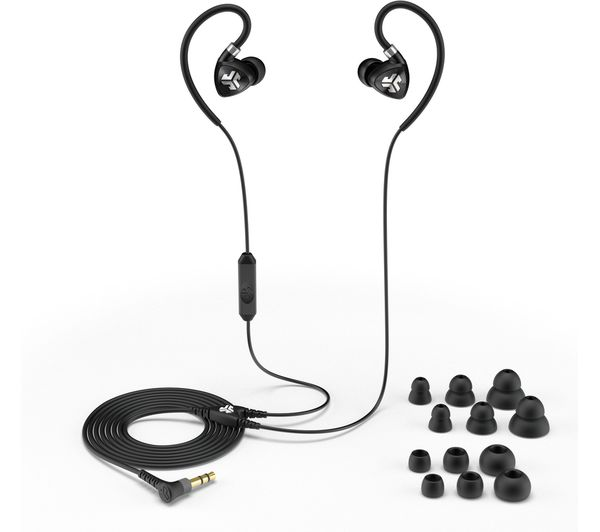 Image of JLAB AUDIO Fit 2.0 Sports Earphones - Black