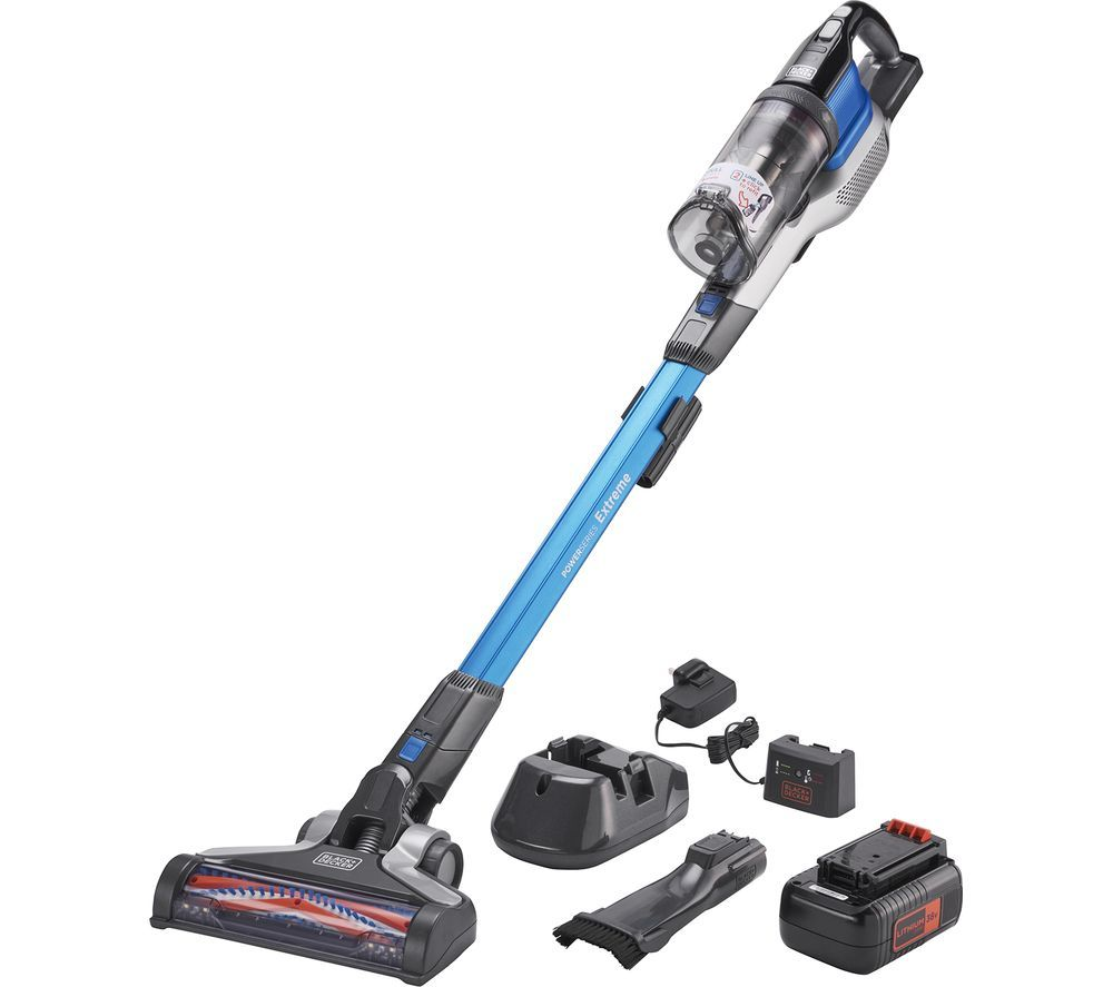 BLACK + DECKER PowerSeries Extreme BHFEV362D-GB Cordless Vacuum Cleaner - Blue