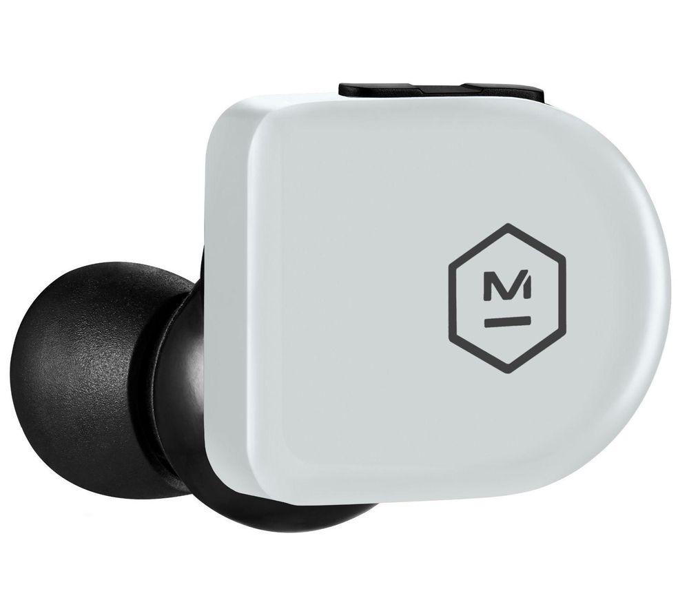 Image of MASTER DYNAMIC MW07 GO Wireless Bluetooth Sports Earphones - Stone Grey, Stone