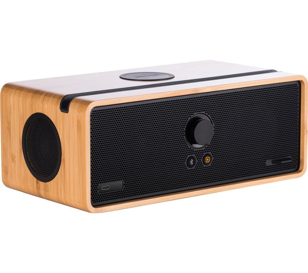 ORBITSOUND DOCK E30 O-039 Wireless Multi-room Speaker - Bamboo