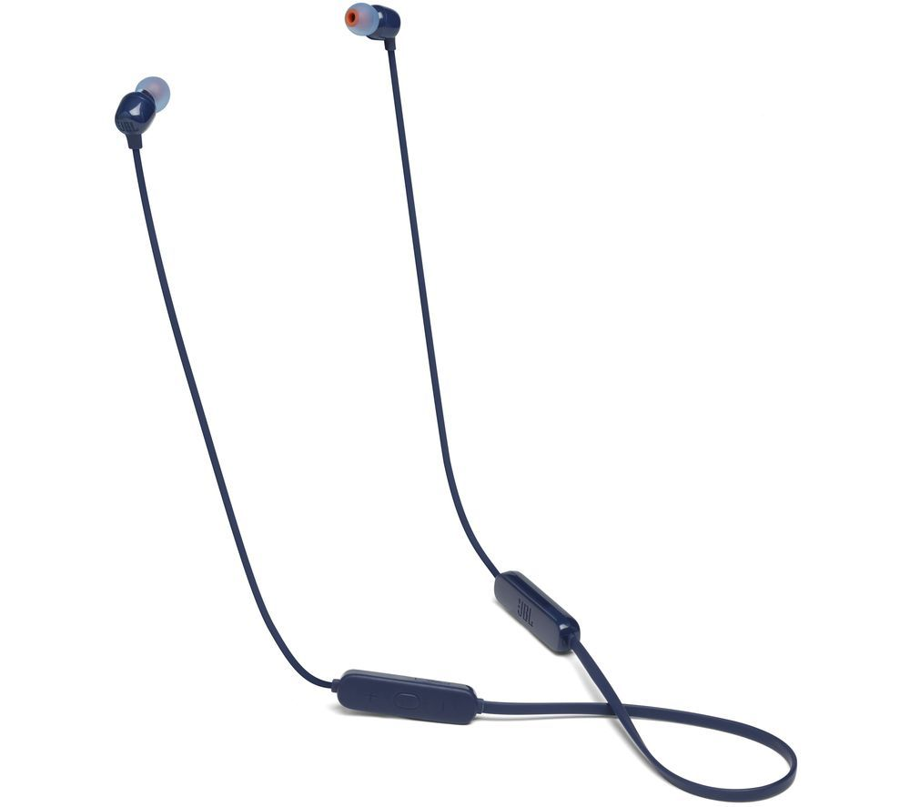 JBL TUNE 115BT Wireless Bluetooth Earphones - Blue