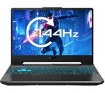 £999, ASUS TUF Blue A15 15.6inch Gaming Laptop - AMD Ryzen 7, GTX 1660 Ti, 512 GB SSD, AMD Ryzen 7 4800H Processor, RAM: 8GB / Storage: 512GB SSD, Graphics: NVIDIA GeForce GTX 1660 Ti 6GB, Full HD screen / 144 Hz, Battery life:Up to 7 hours,