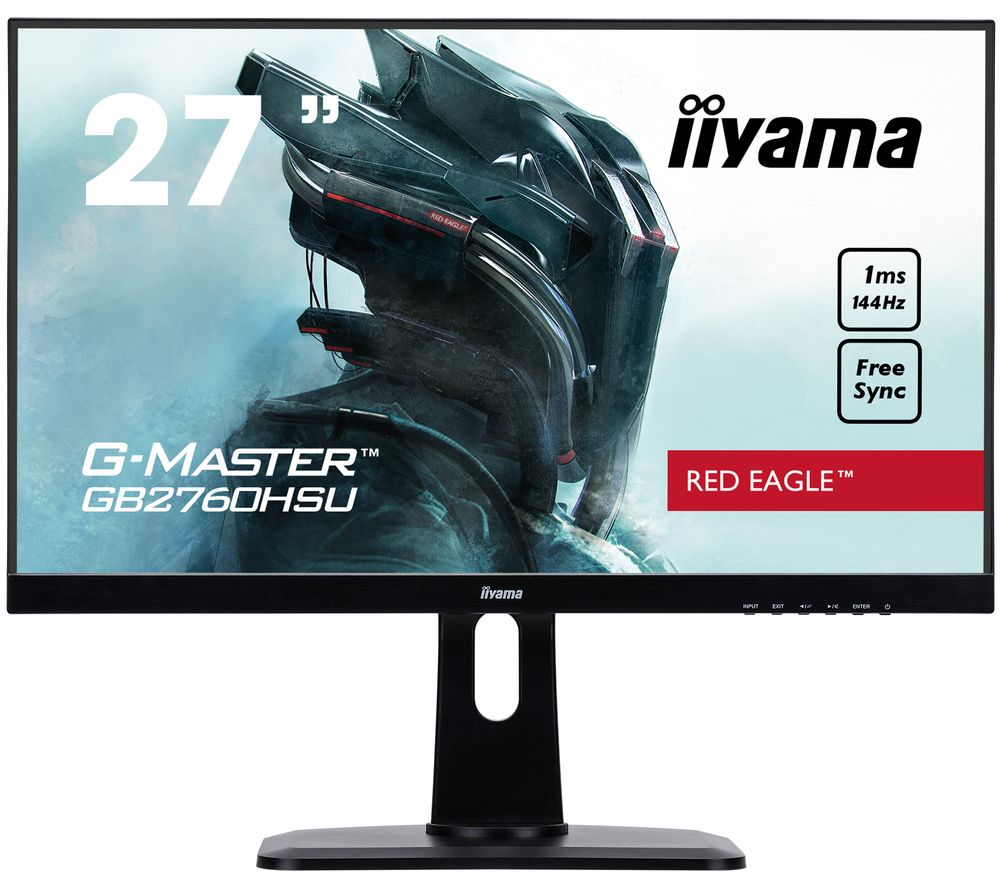 "Image of IIYAMA G-MASTER Red Eagle GB2760 Full HD 27"" TN LCD Gaming Monitor - Black, Red"