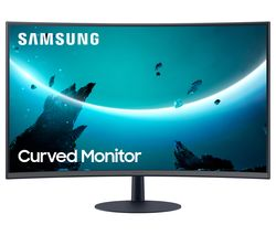 "LC24T550FDUXEN Full HD 24"" Curved LED Monitor - Grey"