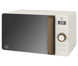 SWAN Nordic SM22036WHTN Solo Microwave - White Best Price, Cheapest Prices