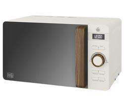 Nordic SM22036WHTN Solo Microwave - White