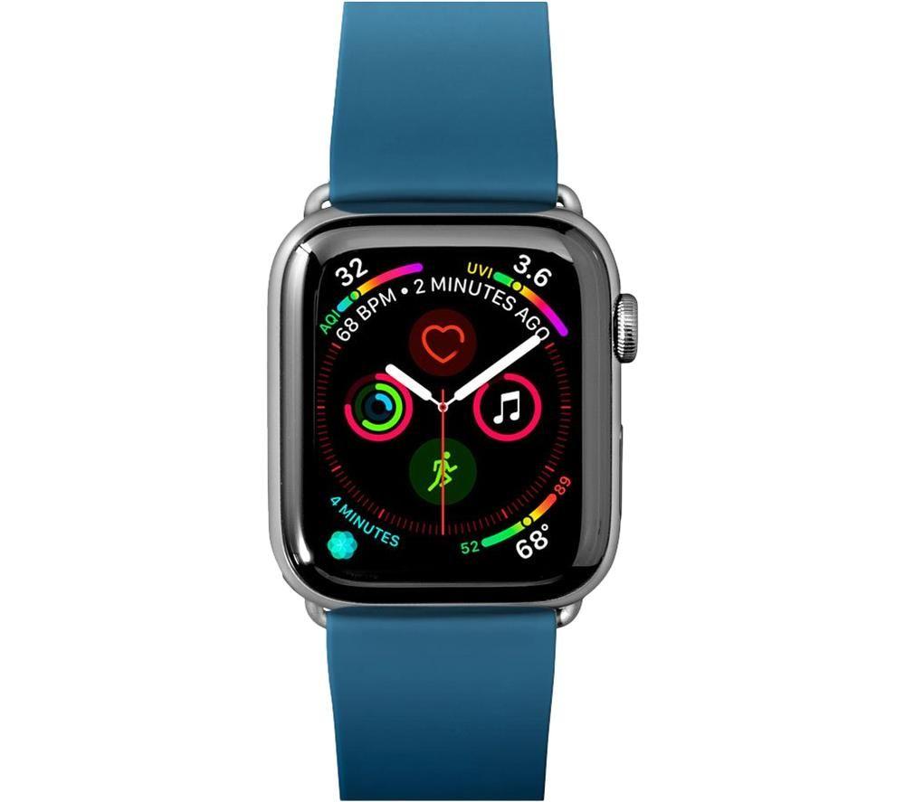 LAUT Active 42-44 mm Apple Watch Strap - Dark Teal, Teal