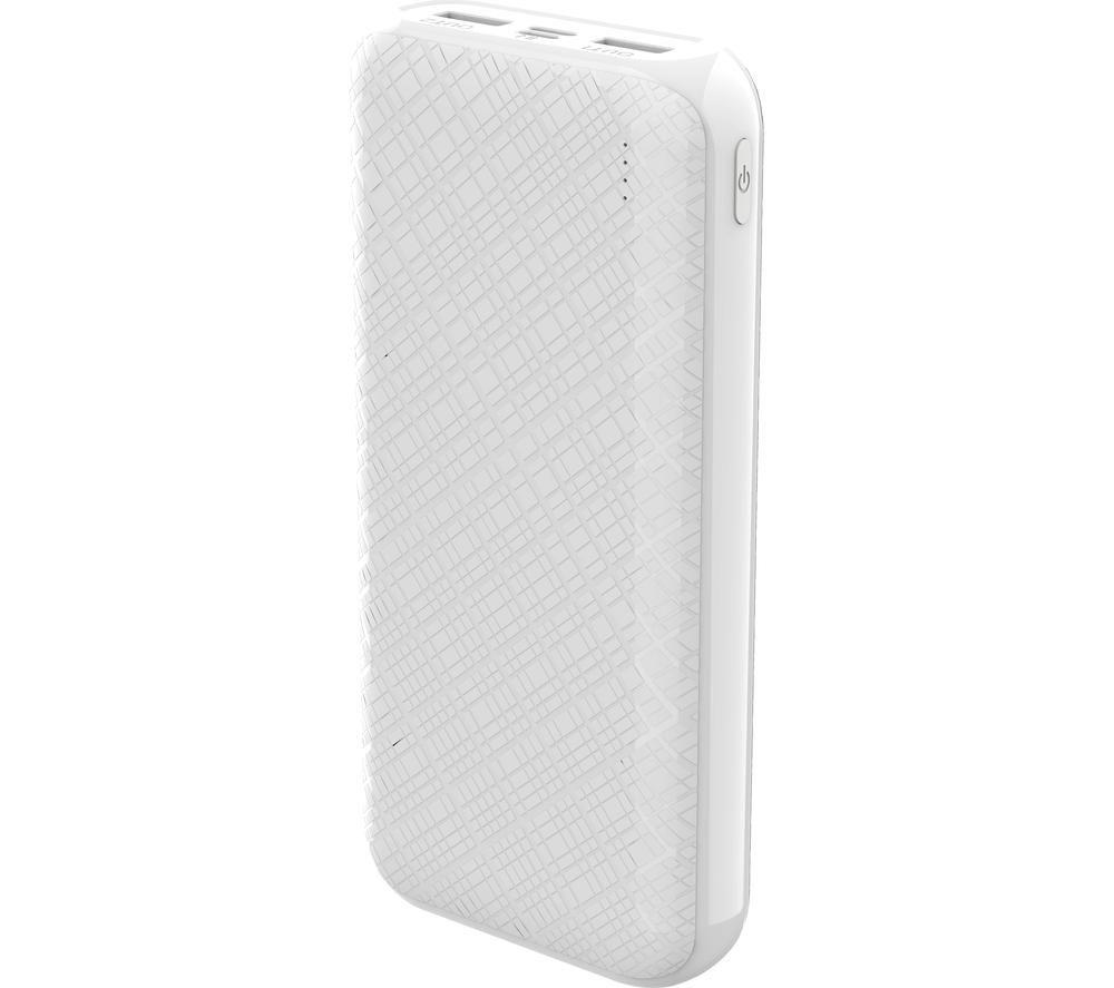 DEVIA Guardian Portable Power Bank - White