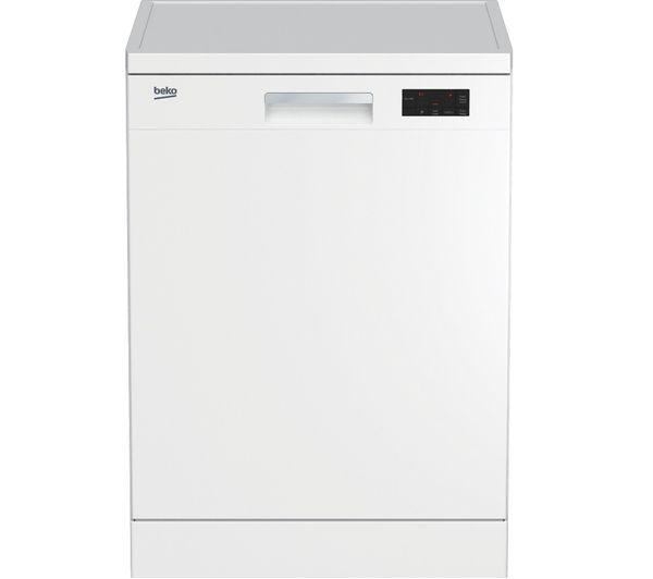 BEKO DFN16X21W Full-size Dishwasher - White