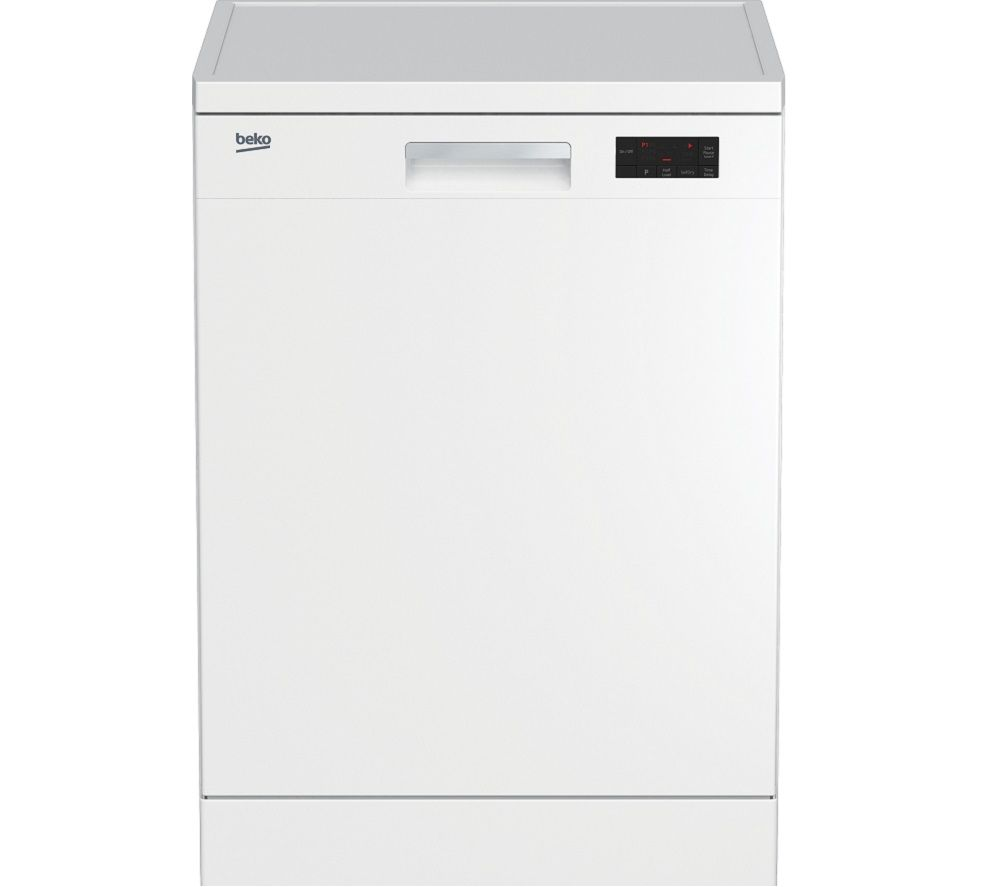 Image of BEKO DFN16X21W Full-size Dishwasher - White, White