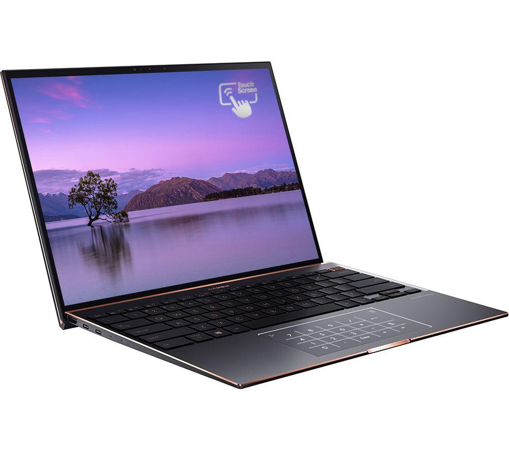 "Image of ASUS Zenbook S UX393 13.9"" Laptop - Intel®Core™ i7, 1 TB SSD, Black, Black"