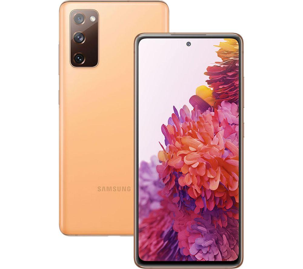SAMSUNG Galaxy S20 FE - 128 GB, Cloud Orange
