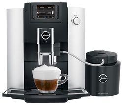 E6 15342 Bean to Cup Coffee Machine - Platinum