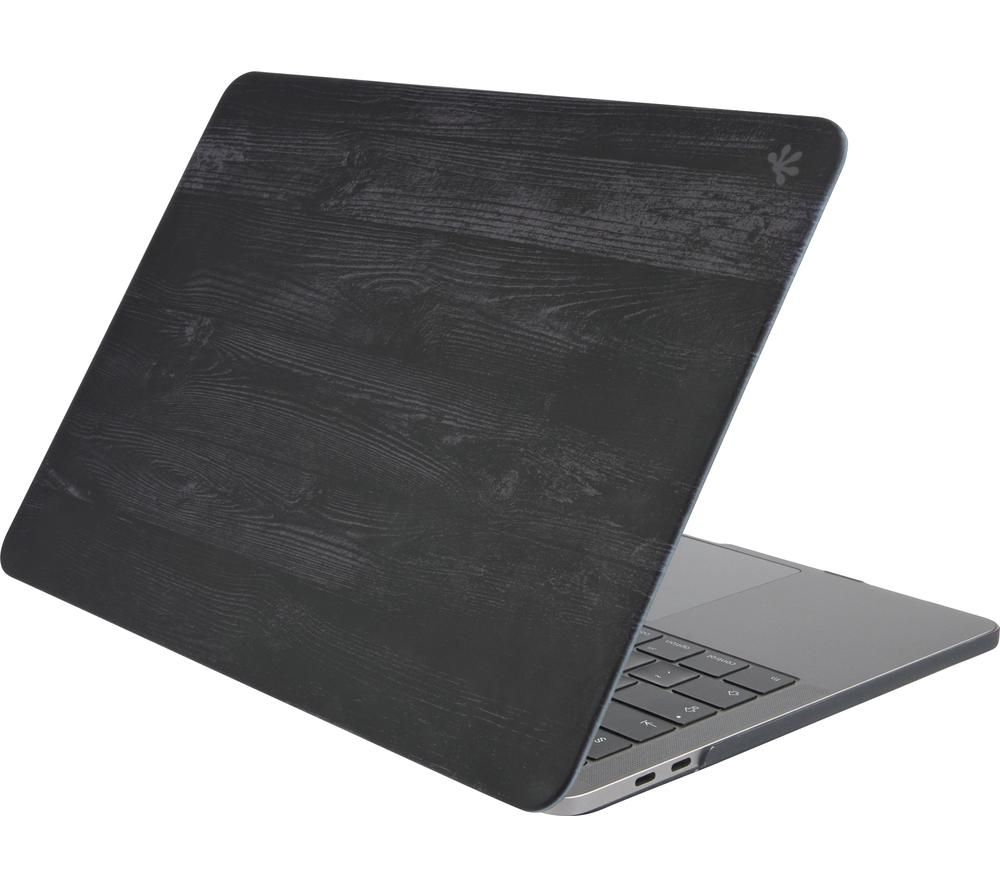 "GECKO COVERS MCLPP13C47 13.3"" MacBook Pro Hardshell Case - Black Wood"