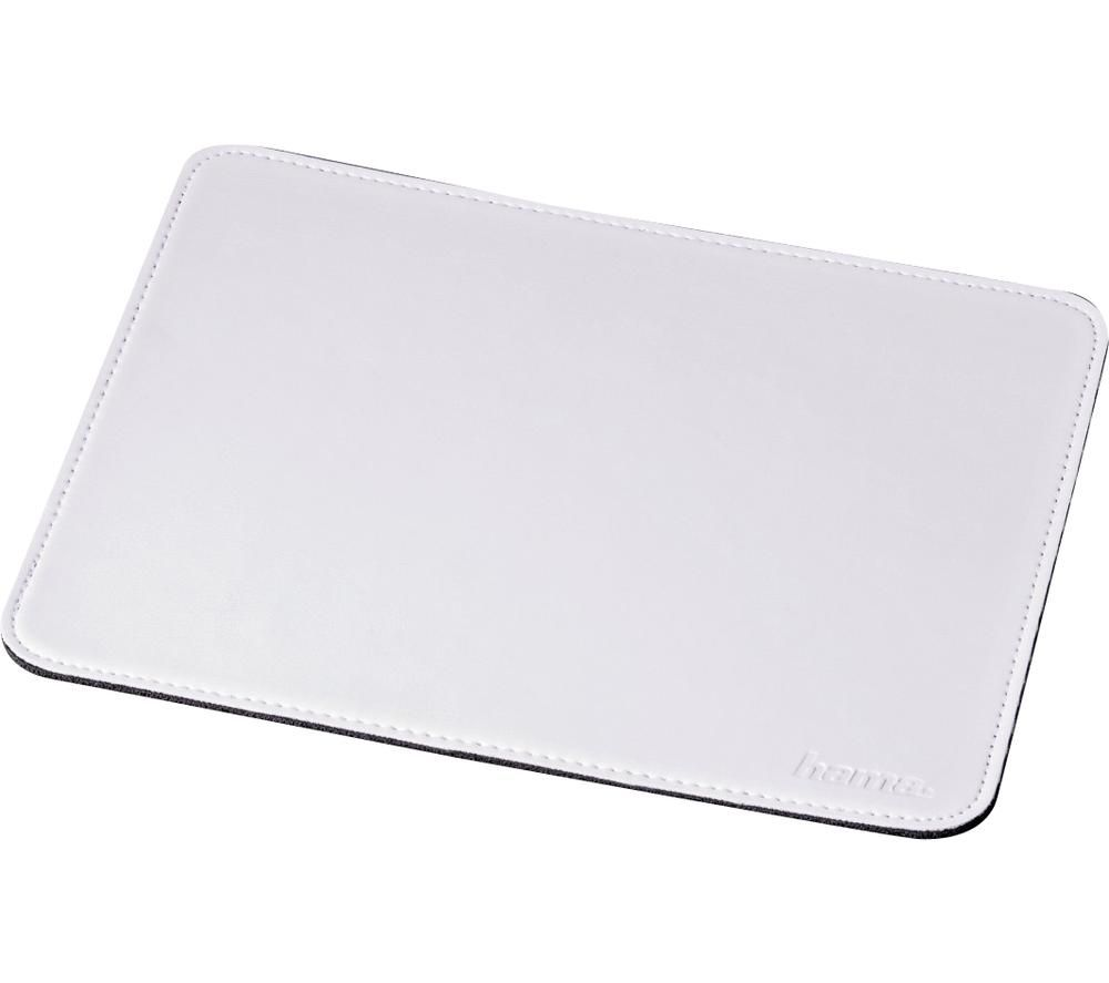 Image of Hama 53231 Mouse pad White (W x H x D) 220 x 3 x 180 mm