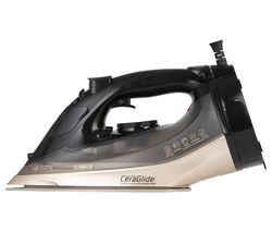 TOWER CeraGlide T22019GLD Cordless Steam Iron - Black & Gold Best Price, Cheapest Prices
