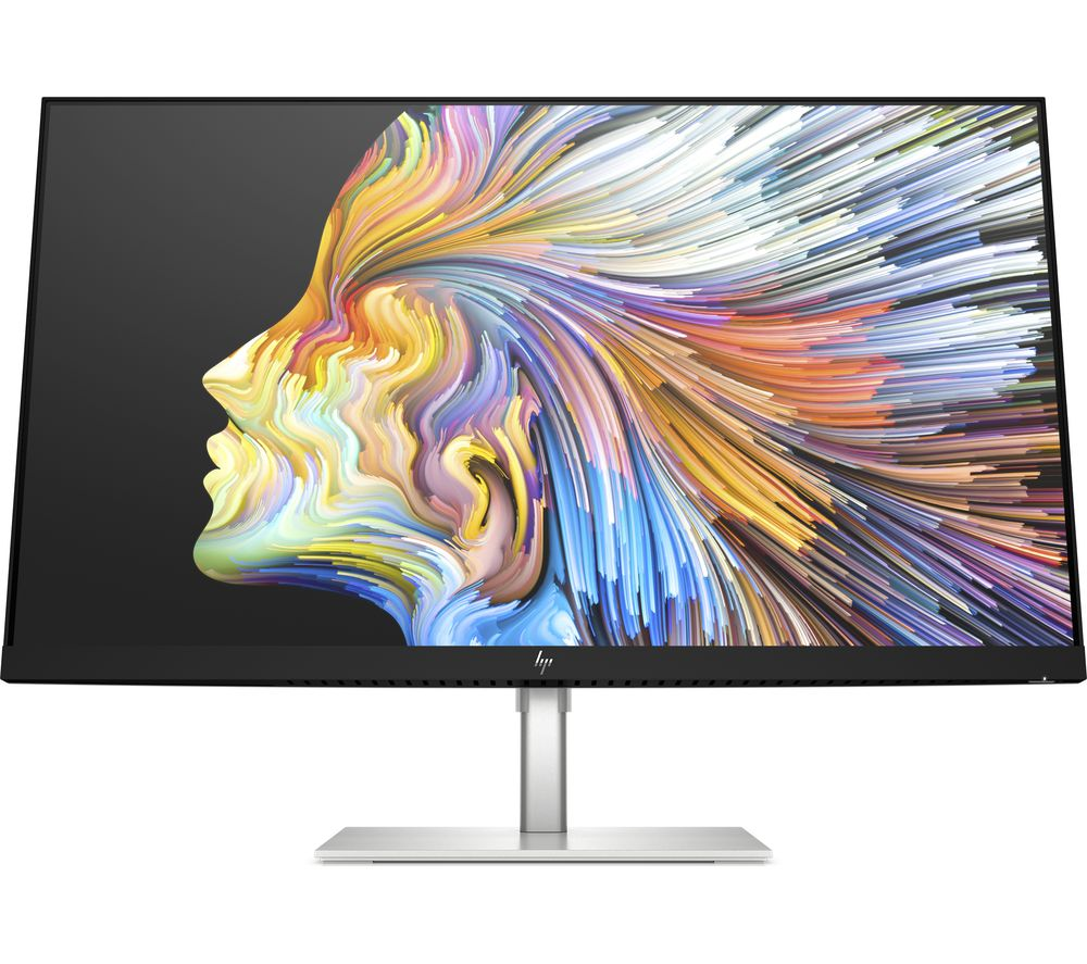 "HP U28 4K Ultra HD 28"" IPS LCD Monitor - Black & Silver"