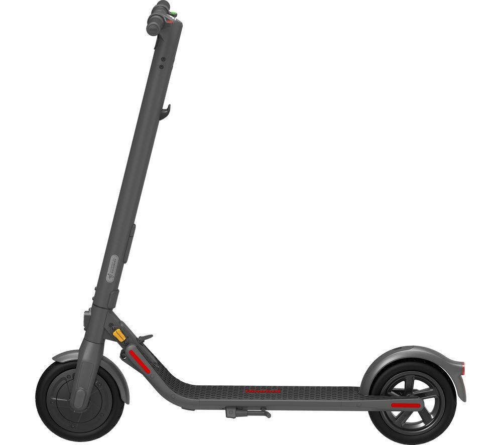 SEGWAY NINEBOT E22E Electric Folding Scooter - Dark Grey, Grey