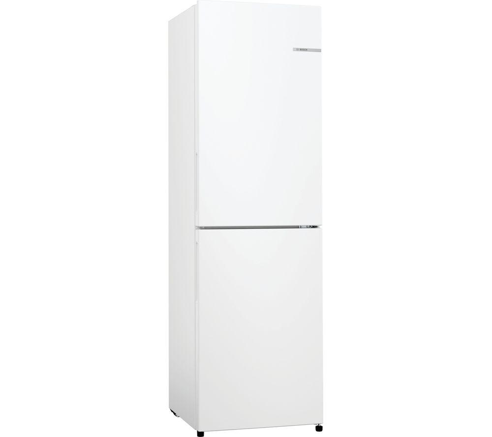 BOSCH KGN27NWFAG 50/50 Fridge Freezer - White, White