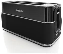 Signature Opulent 245744 4-Slice Toaster - Black