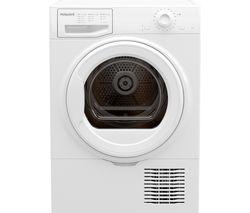 H2 D81W UK 8 kg Condenser Tumble Dryer - White
