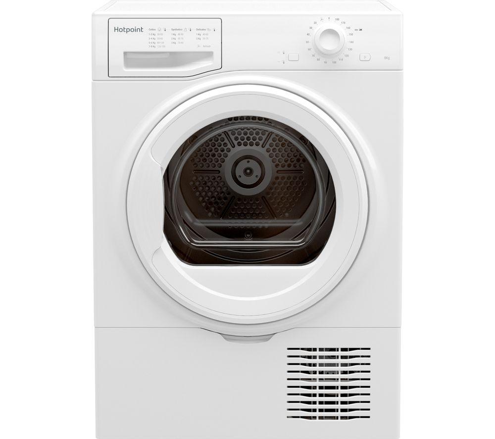 HOTPOINT H2 D81W UK 8 kg Condenser Tumble Dryer - White