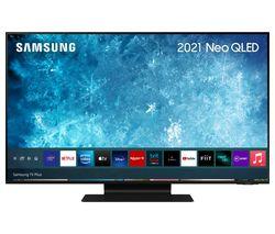 "QE43QN90AATXXU 43"" Smart 4K Ultra HD HDR Neo QLED TV with Bixby, Alexa & Google Assistant"