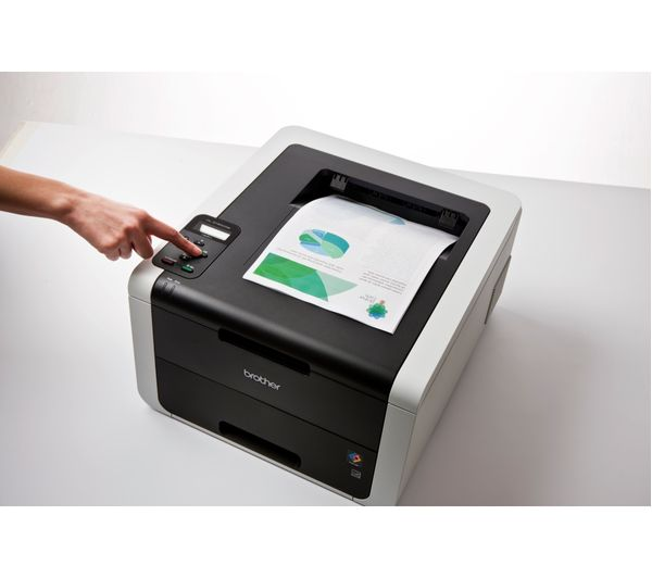 BROTHER HL3150CDW Compact Wireless Colour Laser Printer