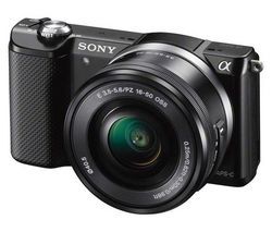 SONY a5000 Mirrorless Camera with 16-50 mm f/3.5-5.6 Lens