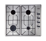 BELLING GHU60GE Gas Hob - Stainless Steel