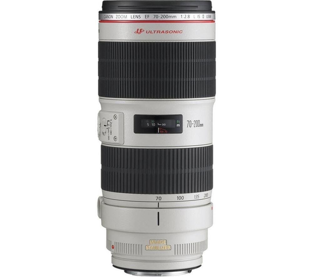 Compare cheap offers & prices of Canon EF 70-200 mm f-2.8L II USM IS Telephoto Zoom Lens manufactured by Canon