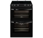 ZANUSSI ZCV66030BA Electric Ceramic Cooker - Black