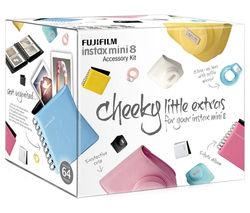 FUJIFILM Instax Mini8 Accessory Kit - Black