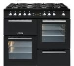 LEISURE A La Carte 100 AL100F230K Dual Fuel Range Cooker - Black
