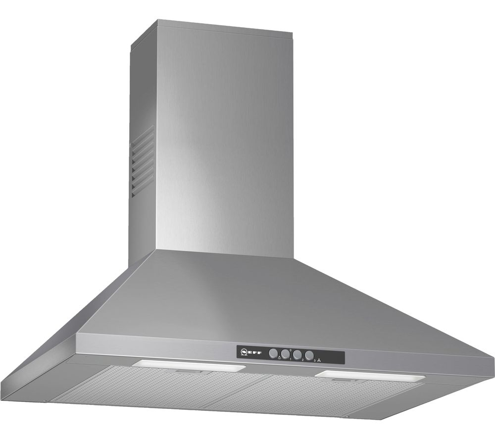 NEFF D67B21N0GB Chimney Cooker Hood - Stainless Steel