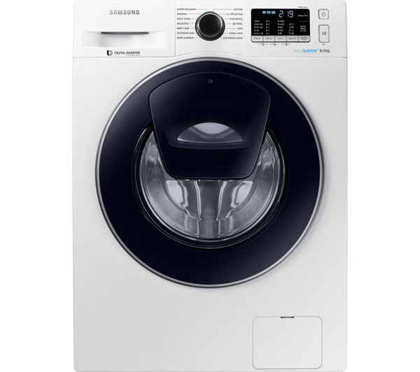buy samsung addwash ww80k5410uw washing machine white. Black Bedroom Furniture Sets. Home Design Ideas