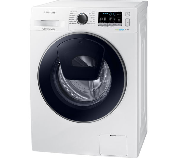 Samsung Washing Machine ~ Buy samsung addwash ww k uw washing machine white