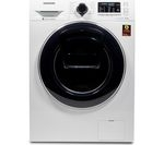 SAMSUNG AddWash WW80K5410UW Washing Machine - White
