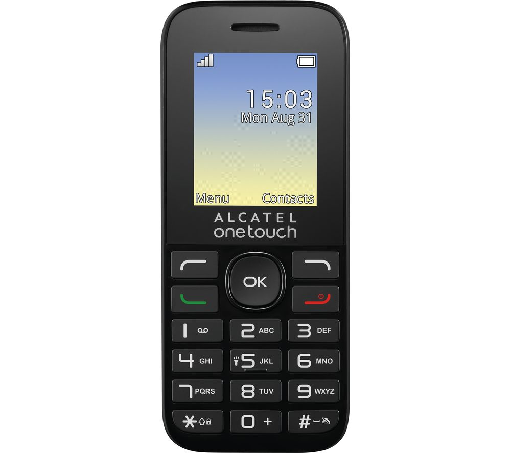 ALCATEL OneTouch 10.16G - Black
