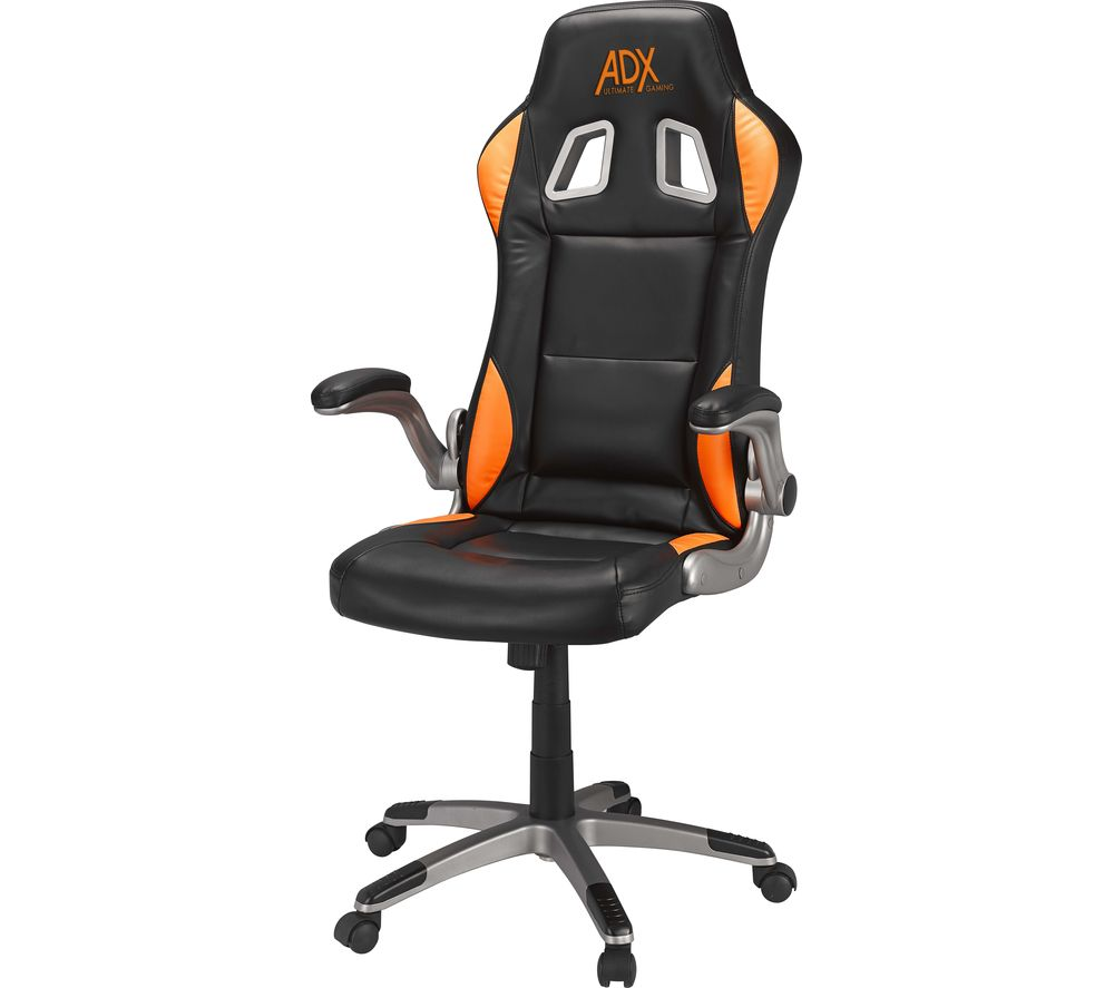 Buy Adx Firebase C01 Gaming Chair Black Amp Orange Free