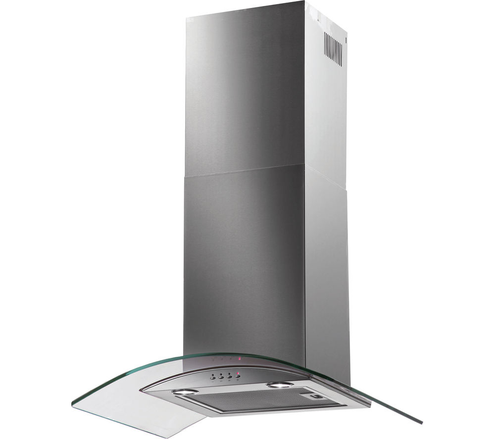 BAUMATIC BT7.3GL Chimney Cooker Hood - Stainless Steel