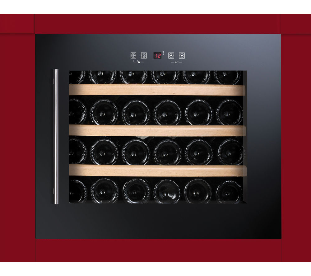 BAUMATIC BWC455BGL Built-in Wine Cooler - Black
