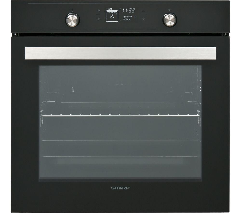 sharp oven. sharp k-70v19bm2 electric oven - black sharp
