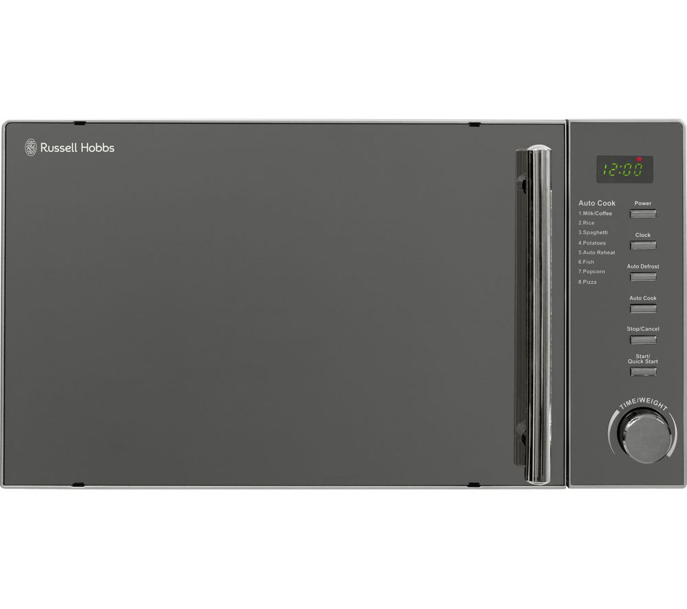 RUSSELL HOBBS RHM2017 Compact Solo Microwave - Silver