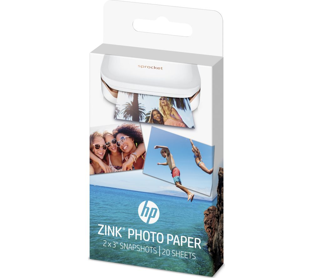 paper cheap paper deals currys zink 50 x 76 mm photo paper for hp sprocket 20 sheets