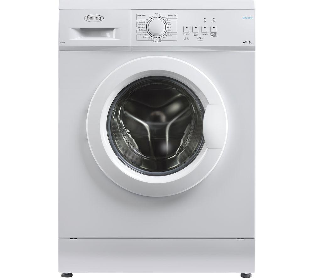 BELLING BEL FW612 WHI Washing Machine - White