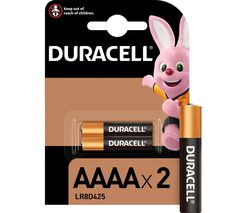 DURACELL Ultra AAAA Batteries - Pack of 2